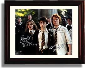 Framed Harry Potter Cast Autograph Replica Print - Harry Potter