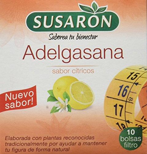 Susarón Adelgasana Sabor Cítricos - 60 bolsitas para infusionar - 6 cajetines