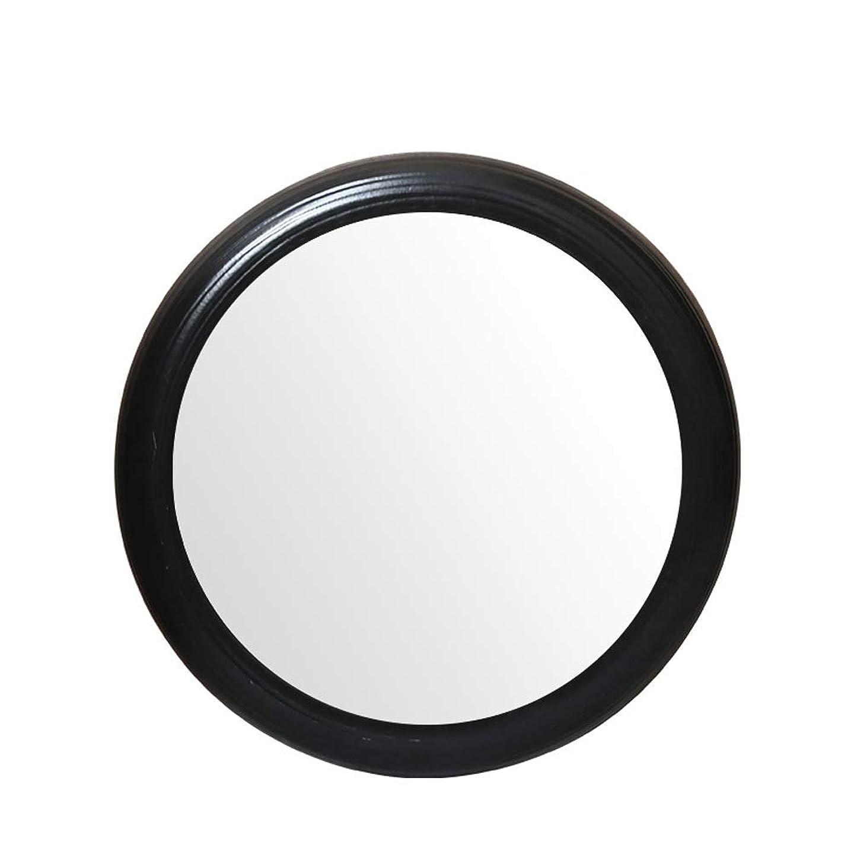 共感する創造テントレトロなラウンドバスルームの鏡浴室中国の壁掛けフレームバスルームの鏡のシンクの鏡 JZ11/1 (Color : F)