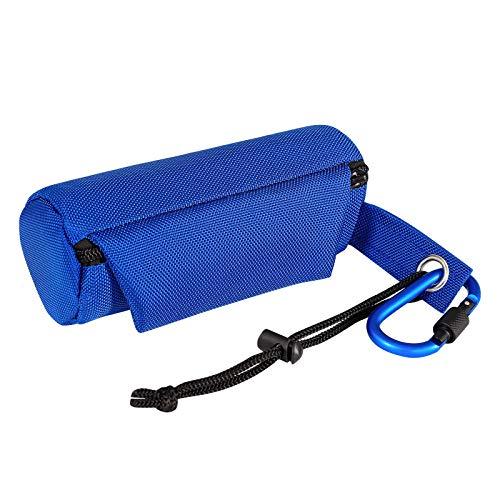 dibea FB00632 Futterbeutel für Hunde Trainingsdummy Leckerliebeutel Hunde Snacktasche Farbe blau, 90 g