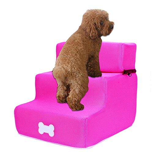 Lizefang Easy Step Hunderampe, Hundetreppe Haustiertreppe Petwalk Treppe Einstiegshilfe Beneficial