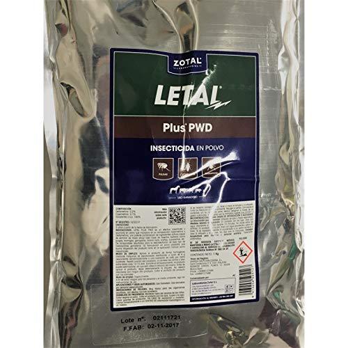 Zotal Laboratorios - Insecticida en Polvo microgránulo LETAL Plus 1 kg
