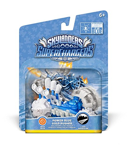 Skylanders: SuperChargers - Gold Rusher Blue Deco (Vehicle)