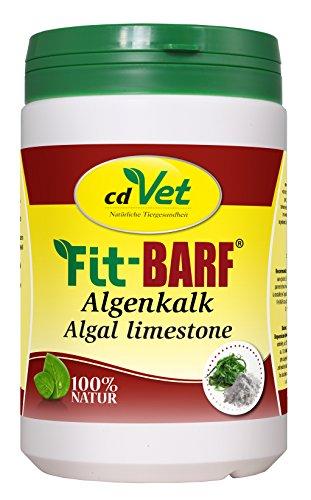 cdVet Naturprodukte Fit-BARF Algenkalk 850 g - Hund&Katze - natürliche Calciumquelle - Phosphorüberschussausgleich -Spurenelemente - 100% rein natürlicher Stoff - Rohfütterung - BARFEN -