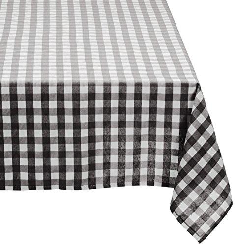 Cassa Luyton Cuba tafelkleed, kunsthars, katoen, polyester, zwart, 40 x 30 x 2 cm