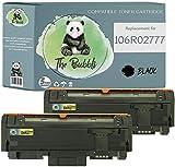 The Bubbli Originale | 106R02777 106R02775 Toner Compatibile per XEROX Phaser 3260 WorkCentre 3225 3215 (2 NERO)