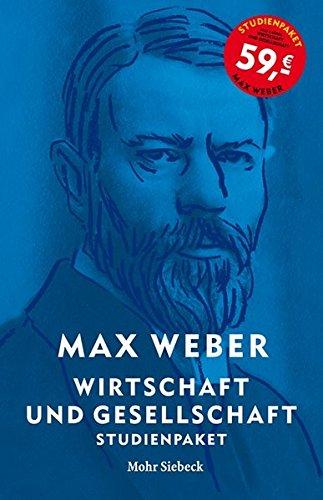 Max Weber-Studienausgabe: Wirtschaft und Gesellschaft. Studienpaket (6 Bände)