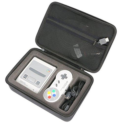 para Super Nintendo - Consola SUPER NES Classic Mini EVA Funda Estuche Bolso by Khanka