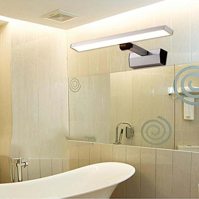 Modern   Zeitgenssische LED Wandleuchte (Light pole einziehbar) LED Spiegel vorne Lampe   Wandleuchte Moderne minimalistische Aluminium einziehbar Make-up Licht Badezimmer Badezimmer Spiegelleuchten Schrank (46 cm   60 cm) Birne eingeschlossen