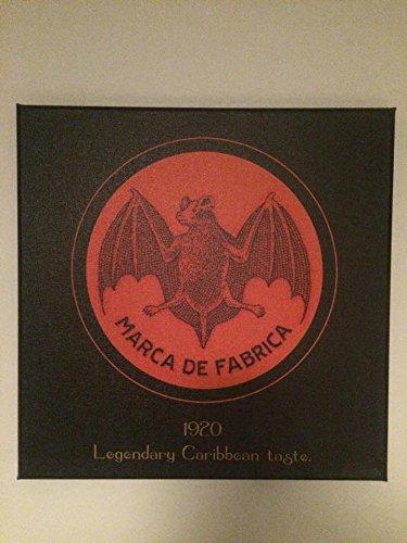 Bacardi Keilrahmen Bild Legandary 1920 Bat 40x40cm
