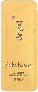 50pcs X Sulwhasoo NEW Essential Firming Cream EX 1ml