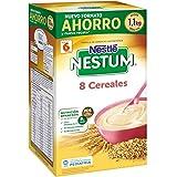 Nestlé Papillas NESTUM - Cereales para bebé, 8 cereales - Pack Ahorro: 1.1 kg