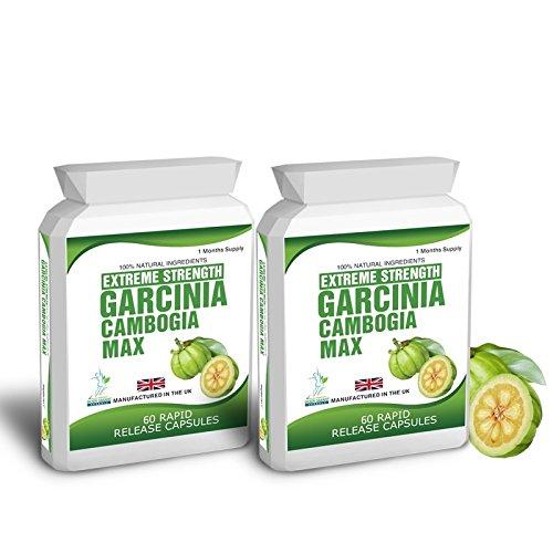Garcinia Cambogia Clean Pure Detox Fat Burner 120 Capsules 1500mg Daily...