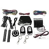 KKmoon Auto SUV Schalter Keyless Entry Motor Start Alarm System mit Sensor Push Button Remote Starter Stop Auto Diebstahlsicherung