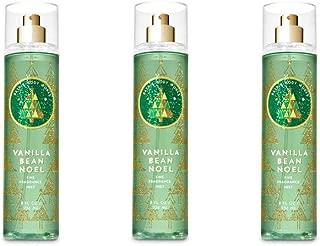 Bath & Body Works Vanilla Bean Noel Fine Fragrance Mist - 2018 Edition - Lot of 3