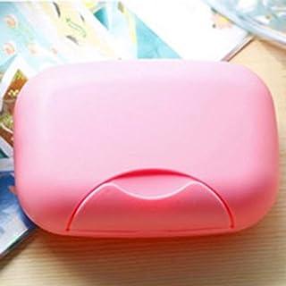 healthwen Caja de jabón portátil para baño, Ducha para el hogar, Viaje, Soporte para jabón, Caja de Sellado para jabón