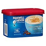 Maxwell House International Cafe Vanilla Bean Latte Coffee Blend (8.5oz Jars, Pack of 8)
