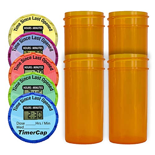 TimerCap Smart Pill Bottle Caps