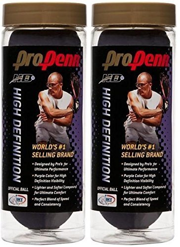 Penn PURPLE PRO RACQUETBALL cans