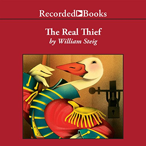 The Real Thief audiobook cover art