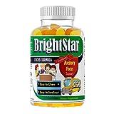 Kids Brain Focus Chewable Gummies Supplements, Attention & Memory Formula for Children and Teens, School Study Task Support Best Great Taste Calming MutliVitamins, Natural Omega DHA