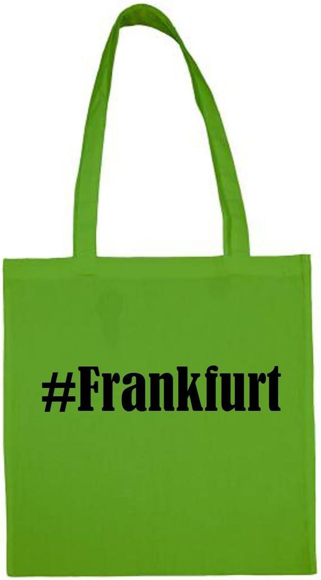 Tasche #Frankfurt Gr/ö/ße 38x42 Farbe Natur Druck Schwarz