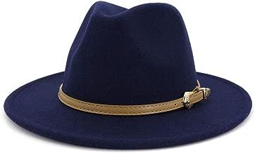KFEK Autumn and Winter New Apron Woolen hat Female Flat Big Gentleman Jazz hat