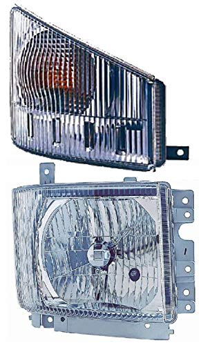 New Passenger Side Headlight/Signal Light FOR 2008 2009 2010 2011 2012 2013 2014 2015 ISUZU NPR HD NQR Truck