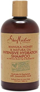 SHEA MOISTURE Manuka Honey and Marfura Oil Intensive Hydration Shampoo, 384 ml, 13 oz (U-HC-12180)