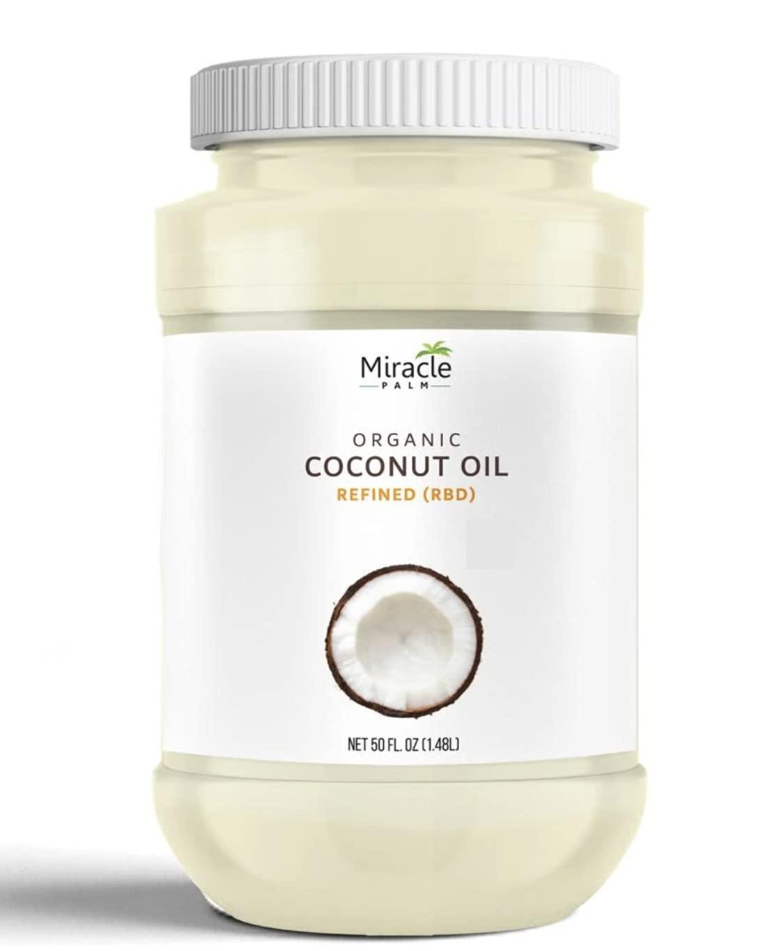 Luxury Super sale Miracle Palm RBD Oil Coconut 50OZ
