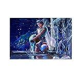 BEKD 12 carteles de constelación temático Acuario abstracto fantasía cuadro decorativo lienzo pared arte sala sala de estar dormitorio pintura 30 x 45 cm