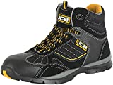 JCB Workwear ROCK/B 9 Hiker SBP Boot, Size 9, Black