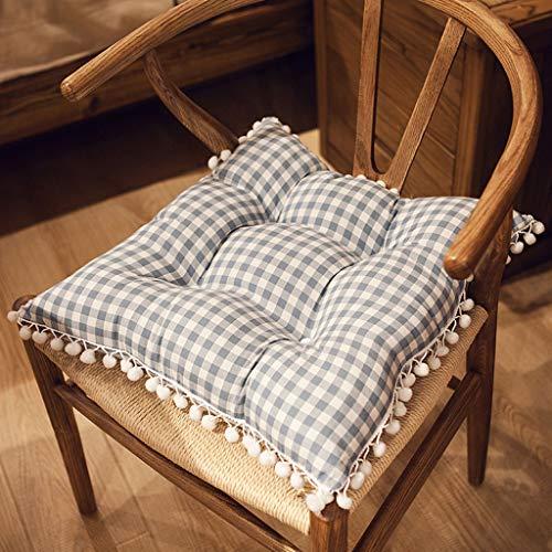 XINR Cojines para sillas de 44 x 44 x 10 cm para Interior y Exterior de algodón...