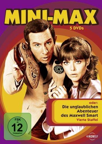 oder Die unglaublichen Abenteuer des Maxwell Smart - Staffel 4 (5 DVDs)