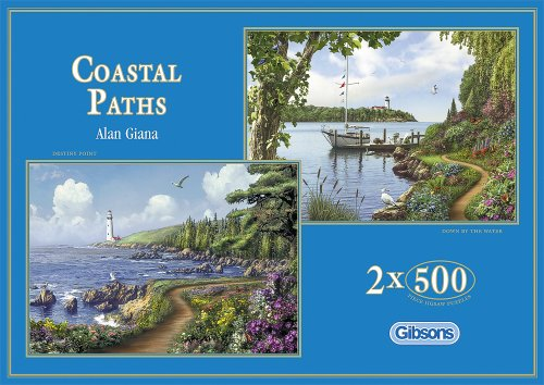 Photo of Gibsons Coastal Paths jigsaw puzzle. (2×500 pieces)