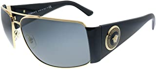 VE 2163 100287 Gold Metal Aviator Sunglasses Grey Lens