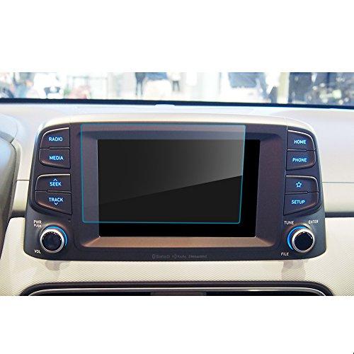 LFOTPP Kona 8 Zoll Navigation Schutzfolie - 9H Kratzfest Anti-Fingerprint Panzerglas Displayschutzfolie GPS Navi Folie