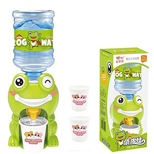 Mini dispensador de agua para niños con zumo de agua, fuente para beber leche, para niñas, simulación de cocina, juguete de simulación con sonido ligero mini (color: tipo 2)