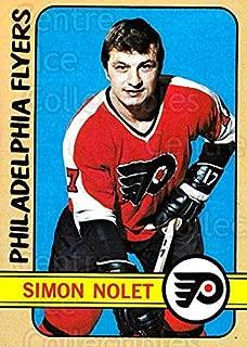 (CI) Simon Nolet Hockey Card 1972-73 Topps 26 Simon Nolet