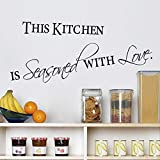 Liebe Küche Berühmte Zitate Wandaufkleber Dekoration DIY
