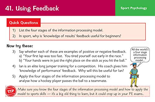 New Grade 9-1 GCSE Physical Education AQA Revision Question Cards: perfect for catch-up, assessments and exams in 2021 and 2022 (CGP GCSE PE 9-1 Revision)