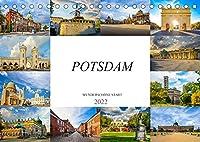 Potsdam Wunderschoene Stadt (Tischkalender 2022 DIN A5 quer): Zwoelf eindrucksvolle Bilder der Stadt Potsdam (Monatskalender, 14 Seiten )