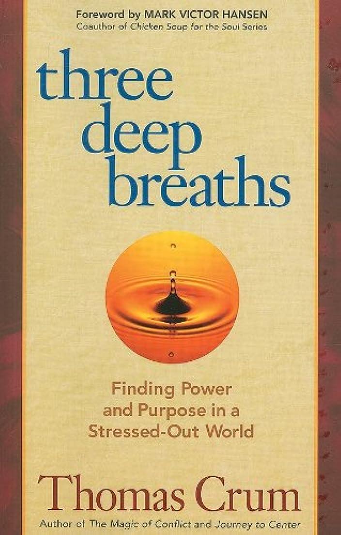 道路を作るプロセス神経性差別Three Deep Breaths: Finding Power and Purpose in a Stressed-Out World