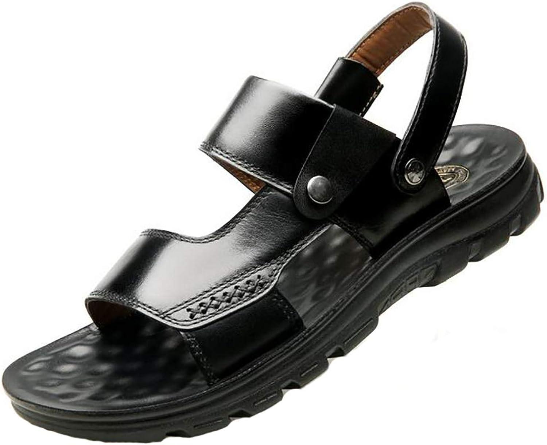 herr gående Sandals Läder sommar sommar sommar Sports