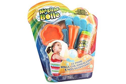 Magische Seifenblasen von Globo Toys37813- 56ml - 2sommerliche Farben - mit Handschuh (EInheitsgröße)