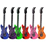 Schnooridoo ts-ideen - Guitarra hinchable (100 cm), multicolor