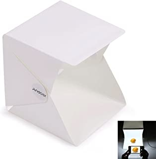 Andoer Foldable Mini Lightbox Table Top Photo Studio Shooting Tent Kit for iPhone Samsang Smartphone or DSLR Camera Shooti...
