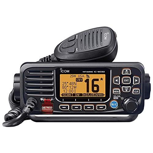 Icom M330-11 VHF Radio Fixed Mount Black