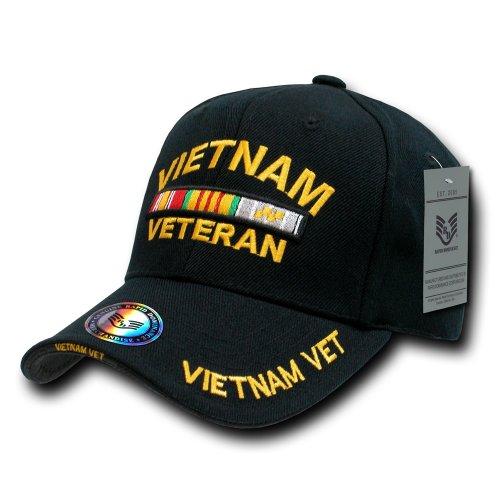 Rapiddominance The Legend Milit Cap, Vietnam Vet/Black