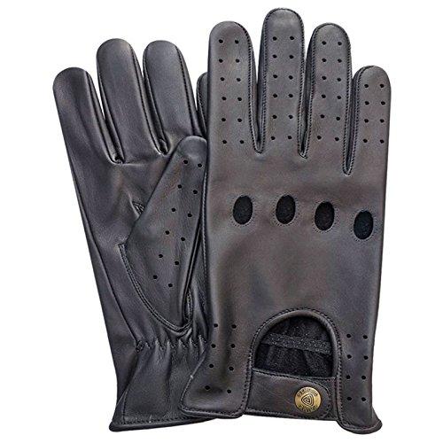 Prime Leather 502 Gants en cuir non doublés Taille L Noir